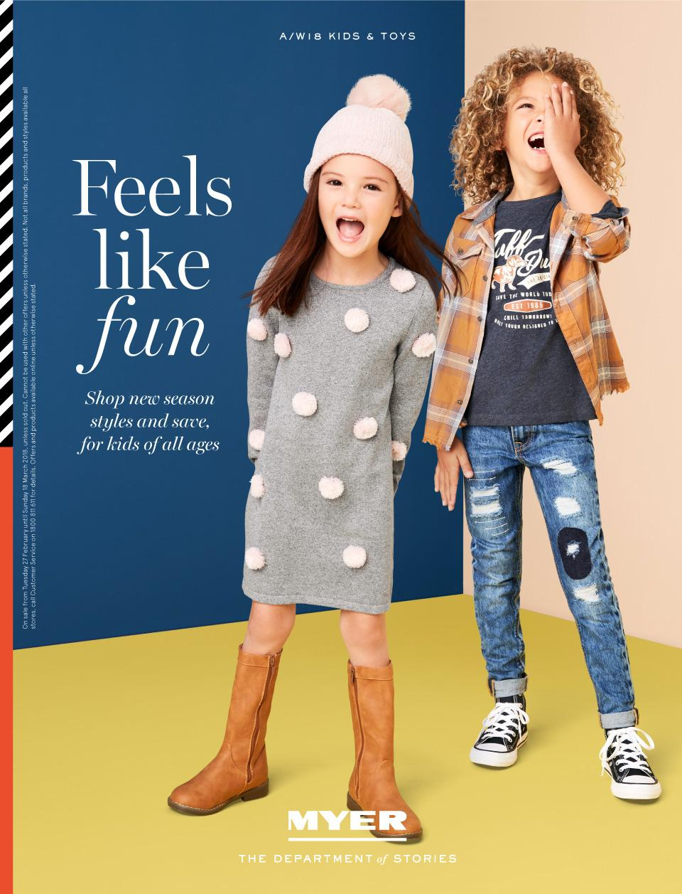 myer catalogue 27 february 2018