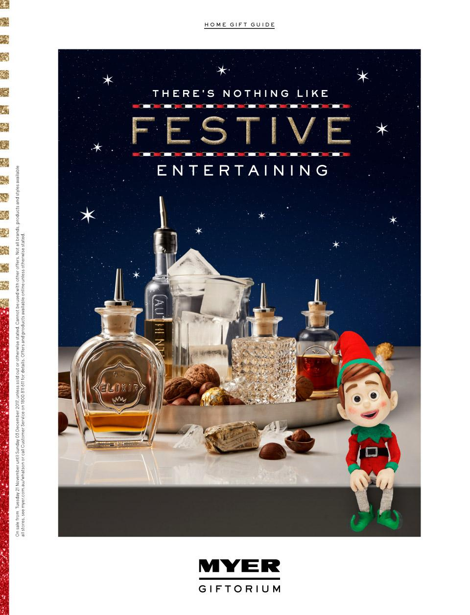myer catalogue christmas entertainment 2017