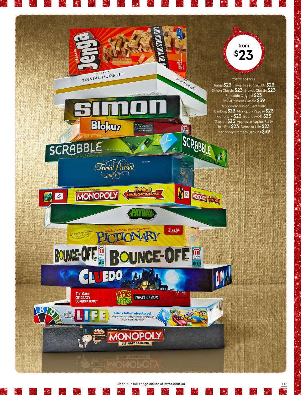 myer catalogue christmas toys 27 nov 2018
