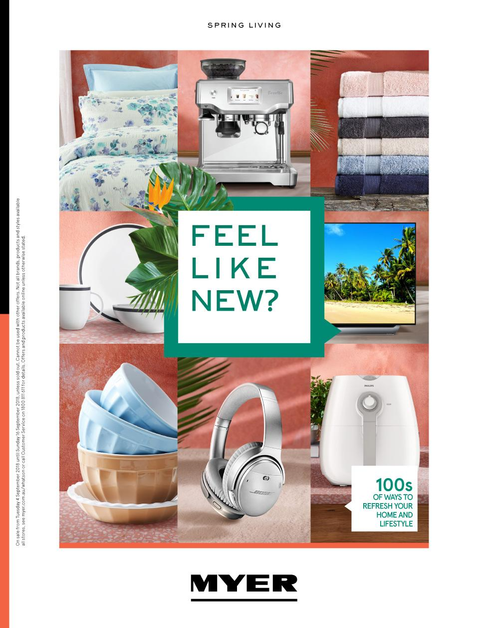 myer catalogue home september 2018