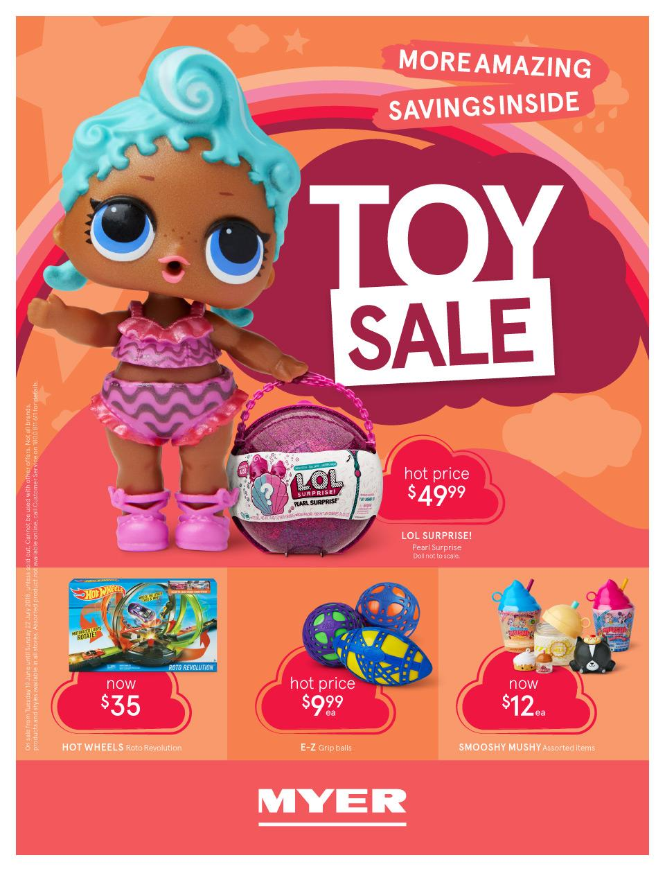 myer catalogue toy sale june 2018