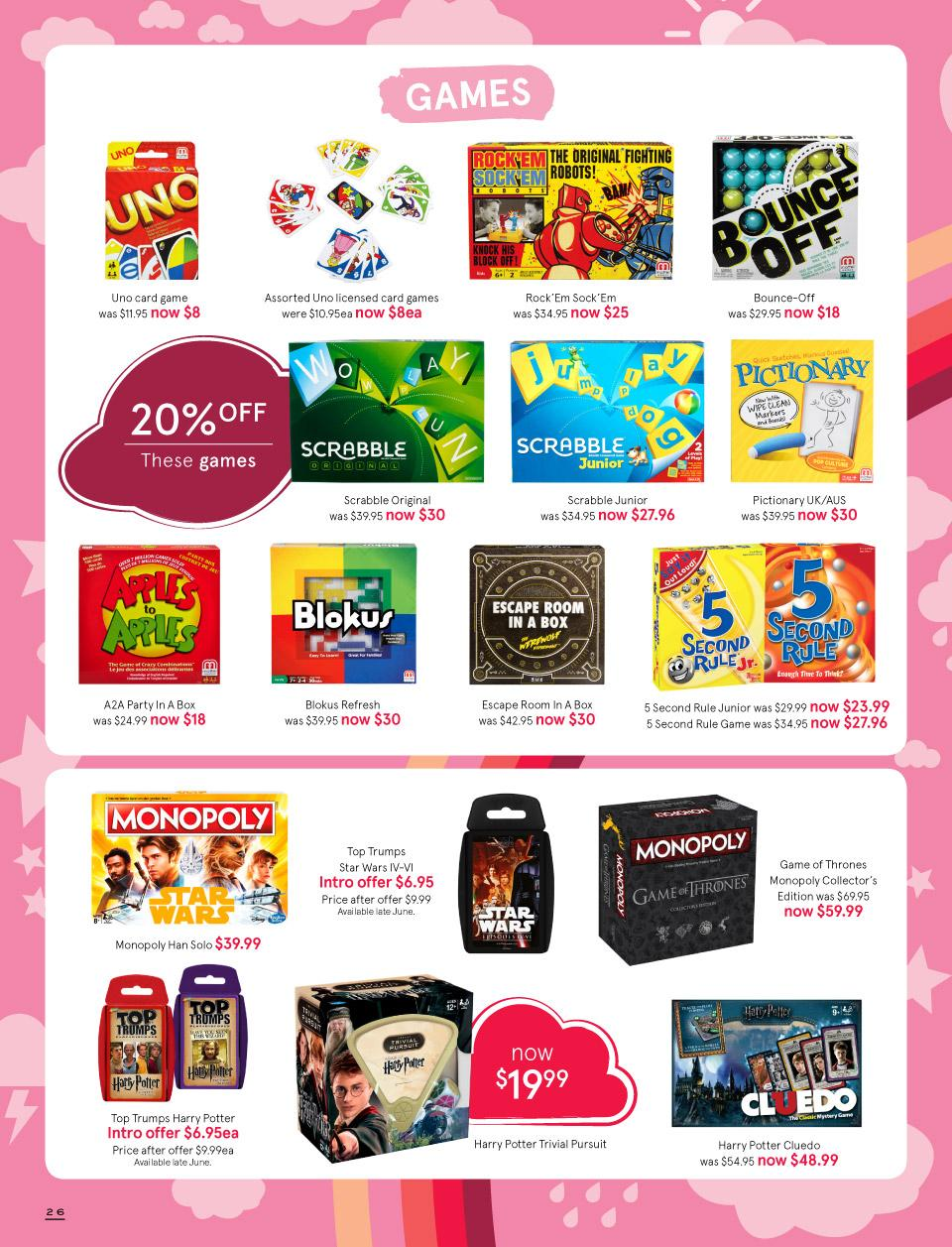 Re: Myer Australia Toy Sale Posted by Daxmajor on September 9th, @ am CDT Still haven't spotted Ultimate BB or Leader Brawl yet, and it's not from a lack of looking.