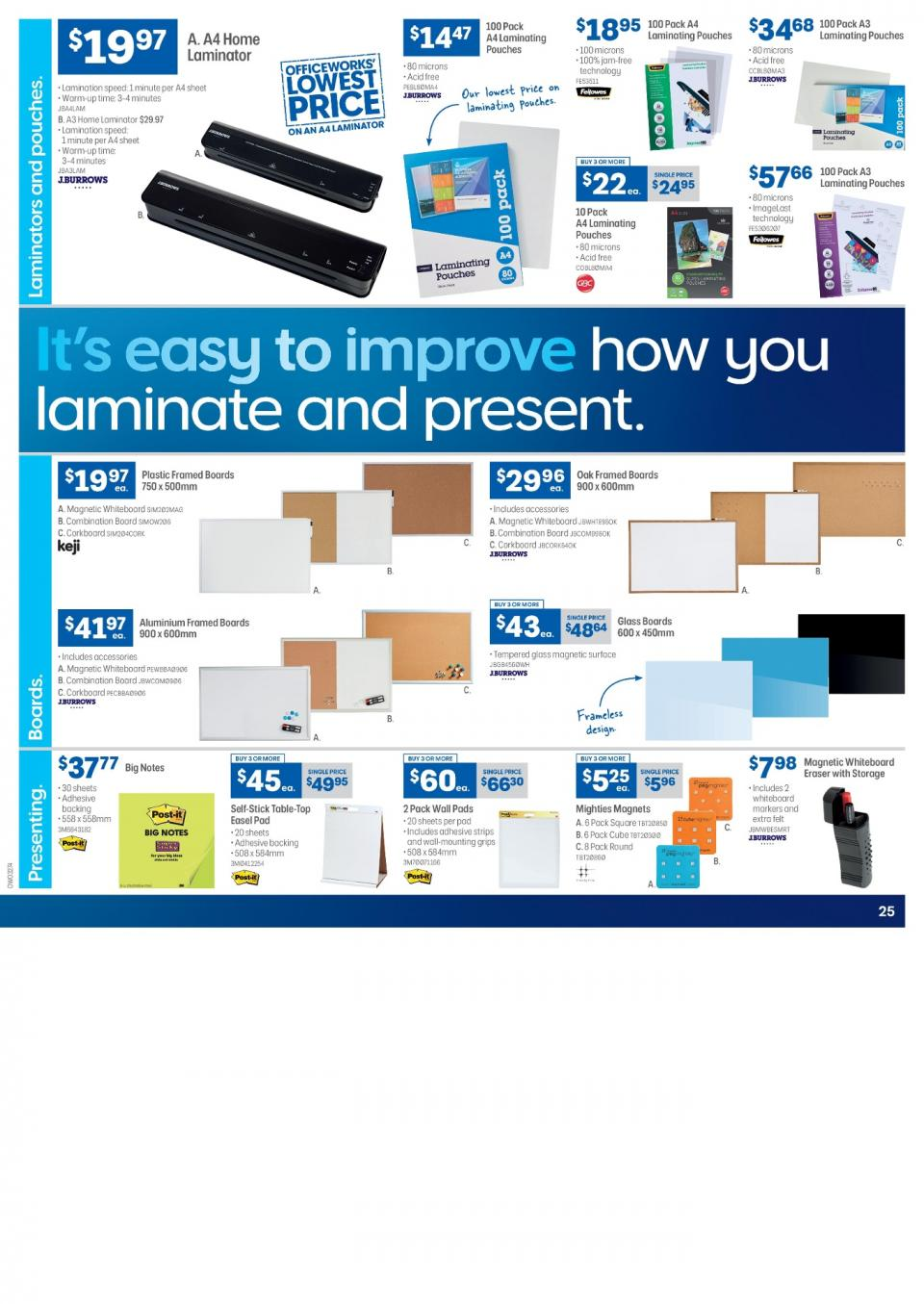 Officeworks Catalogue Jun 2019 Page 23 - Www imagez co