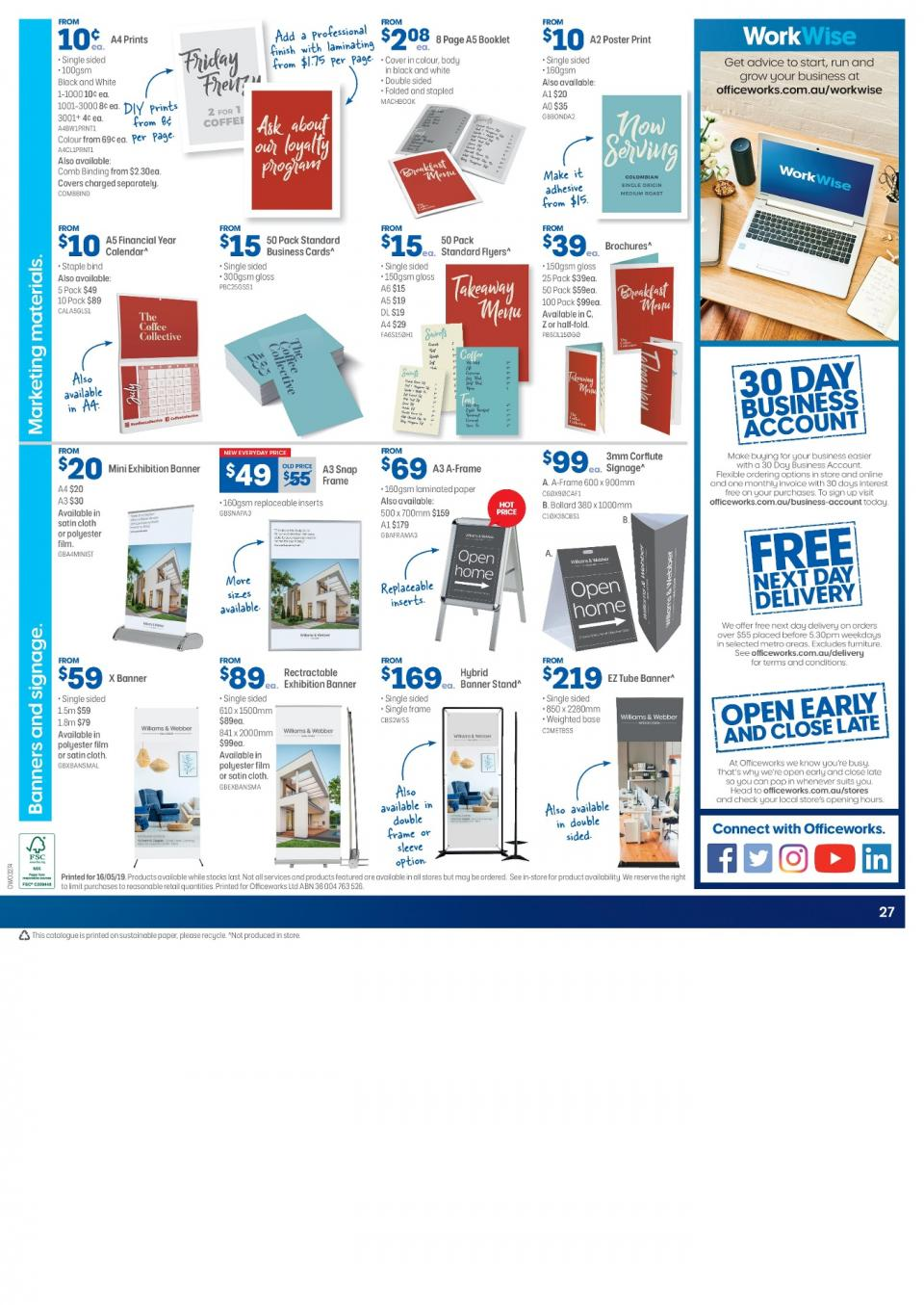 Officeworks Catalogue Jun 2019 Page 27 - Www imagez co