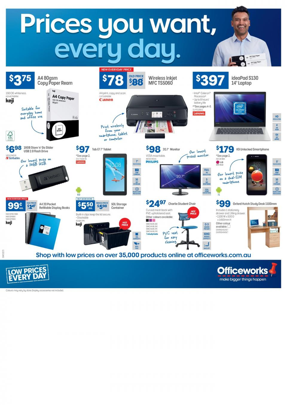 Officeworks Catalogue March 2019