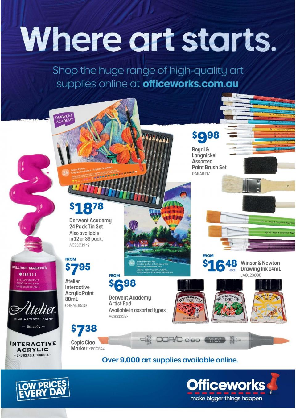 Officeworks Catalogue Paints April 2019