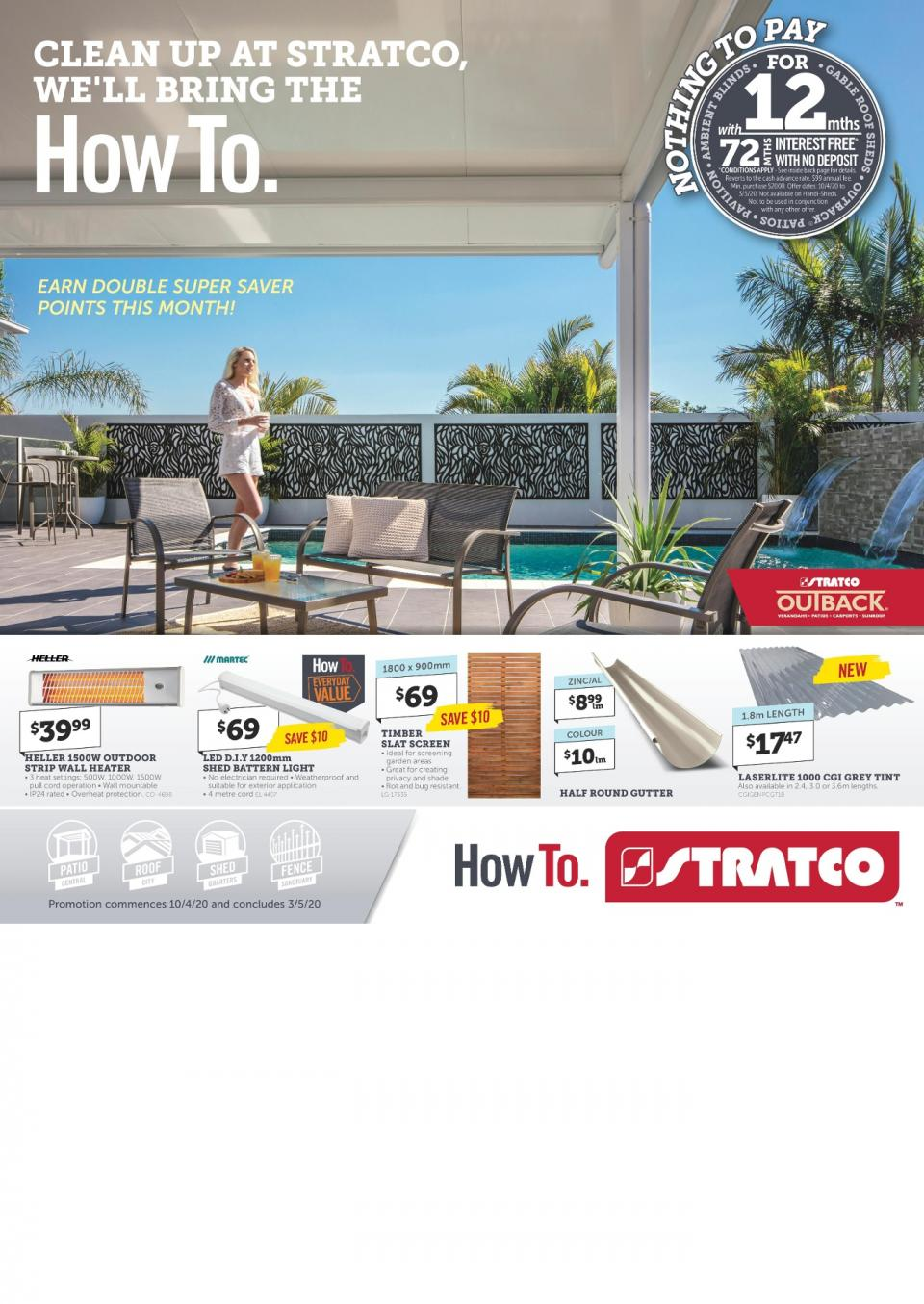 Stratco Catalogue 10 Apr 3 May 2020