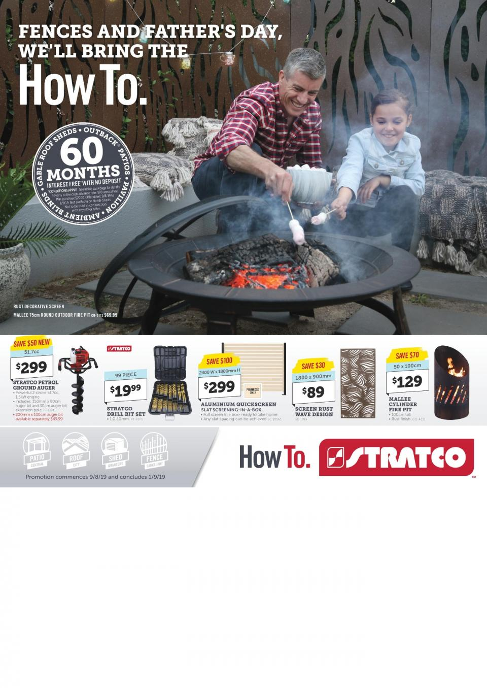 stratco catalogue father s day 9 aug 1 sep 2019
