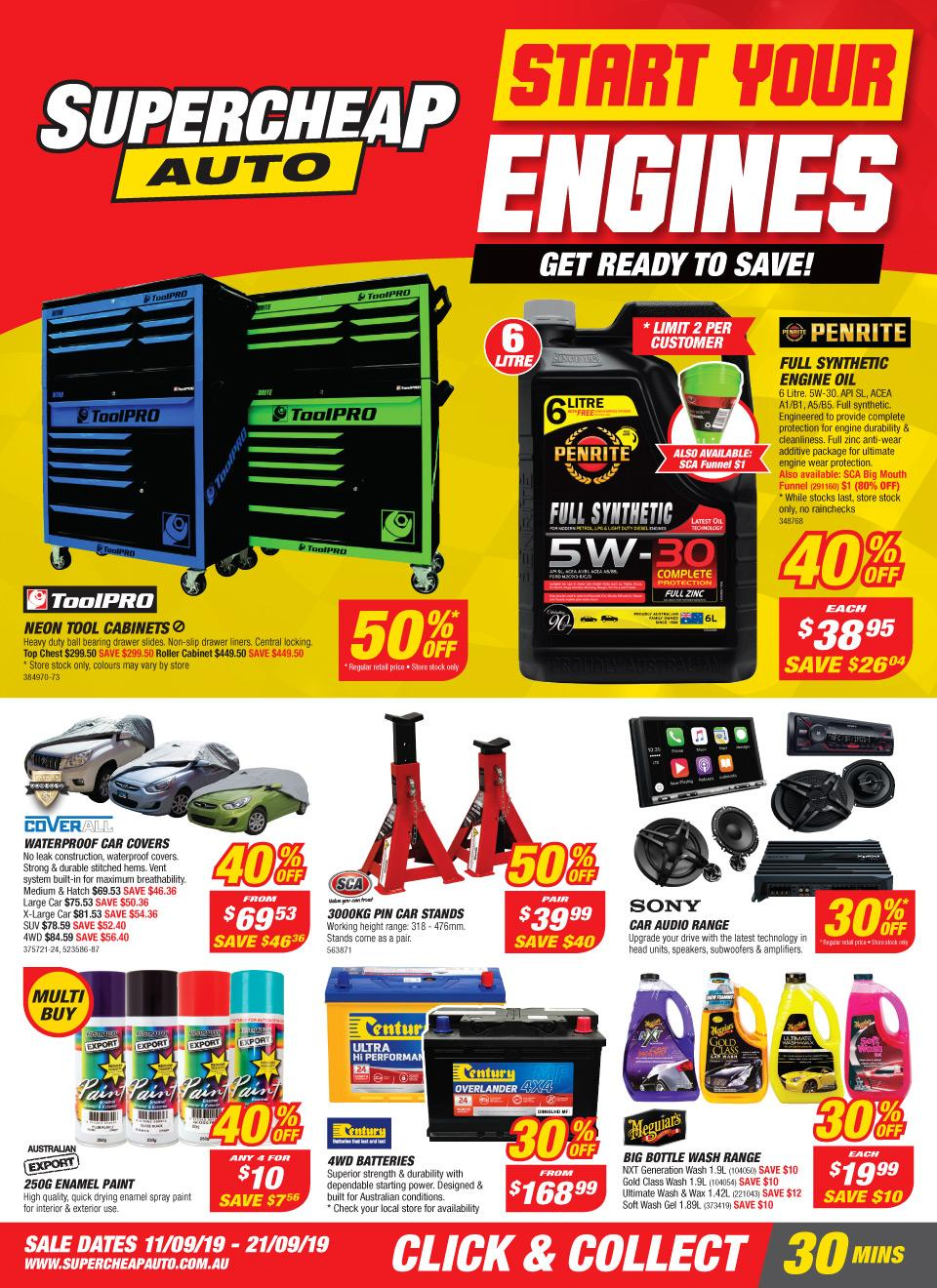supercheap auto catalogue 11 21 sep 2019