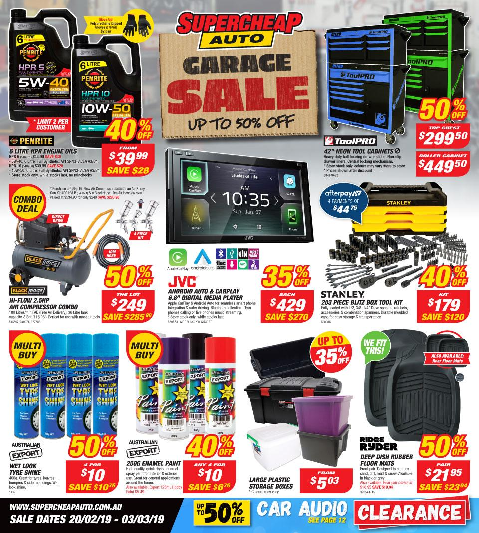supercheap auto catalogue 20 feb 3 mar 2019