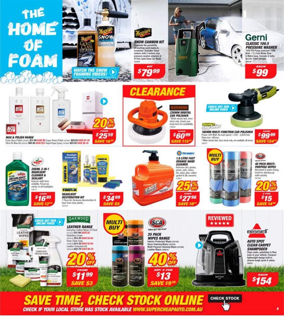 Supercheap Auto Catalogue 24 Apr 5 May 2019 Page 5