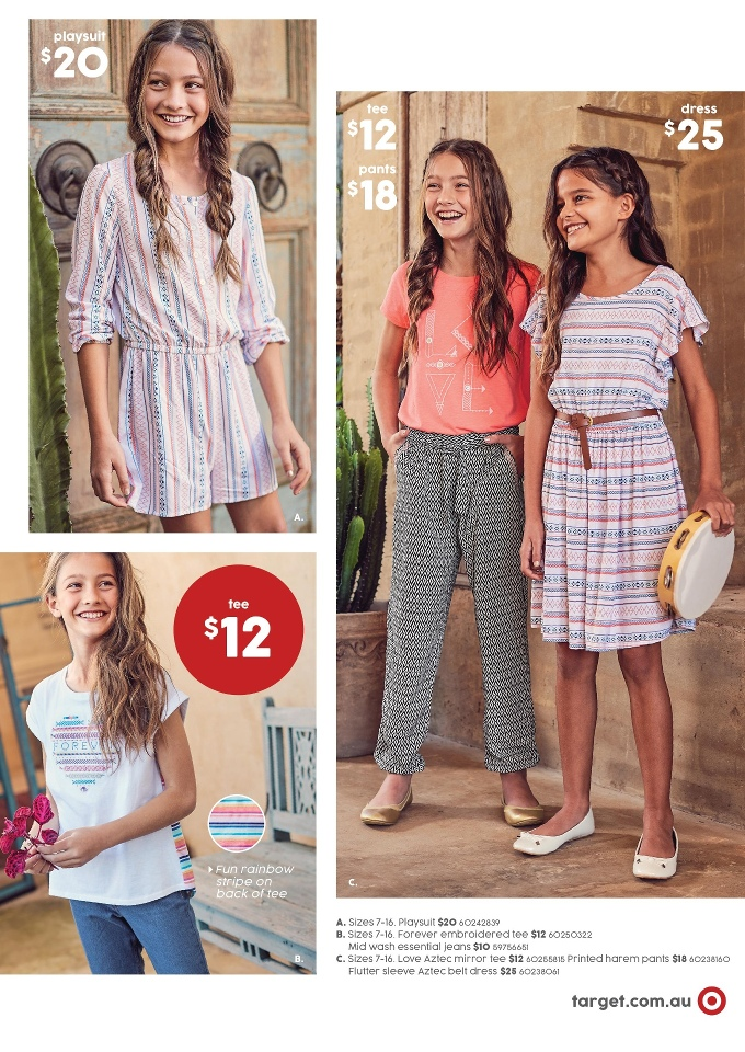 target catalogue 10 august 2017
