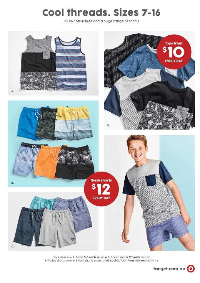 target catalogue 11 aug 2016