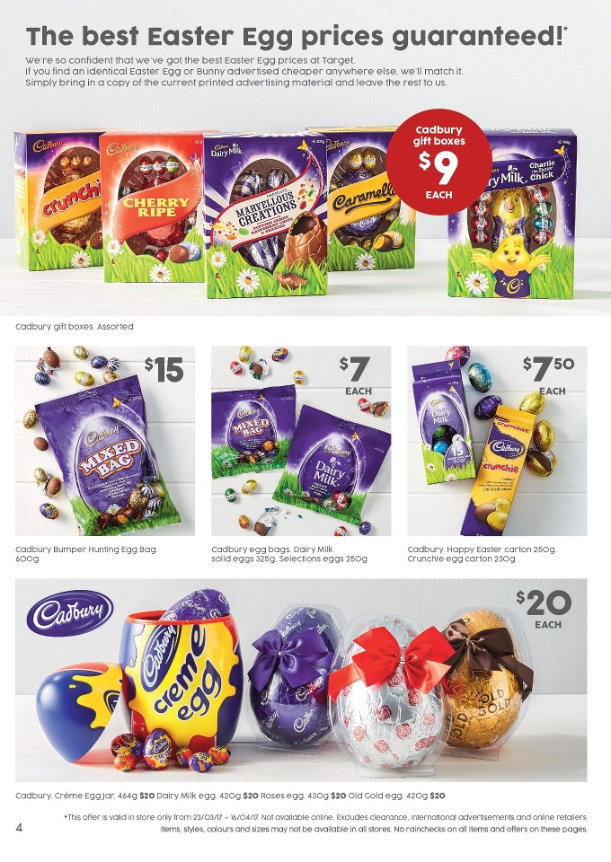 target catalogue 12 april 2017