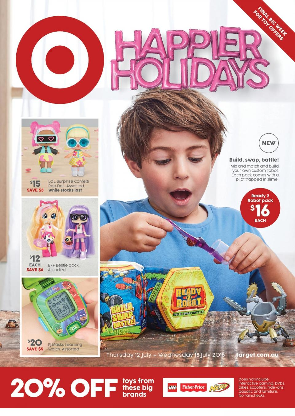 target catalogue 12 july 2018