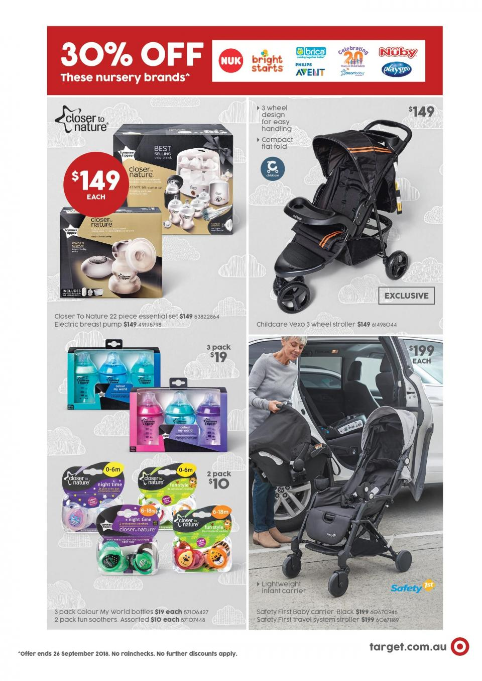 target catalogue 13 sep 2018