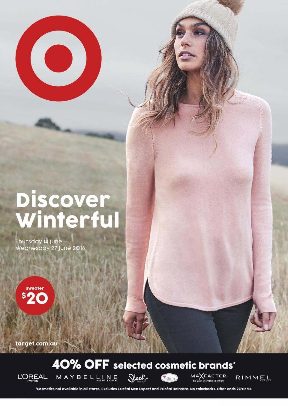 target catalogue 14 june 2018