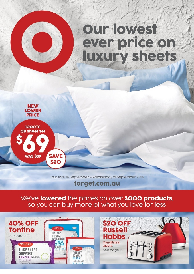 target catalogue 15 september 2016
