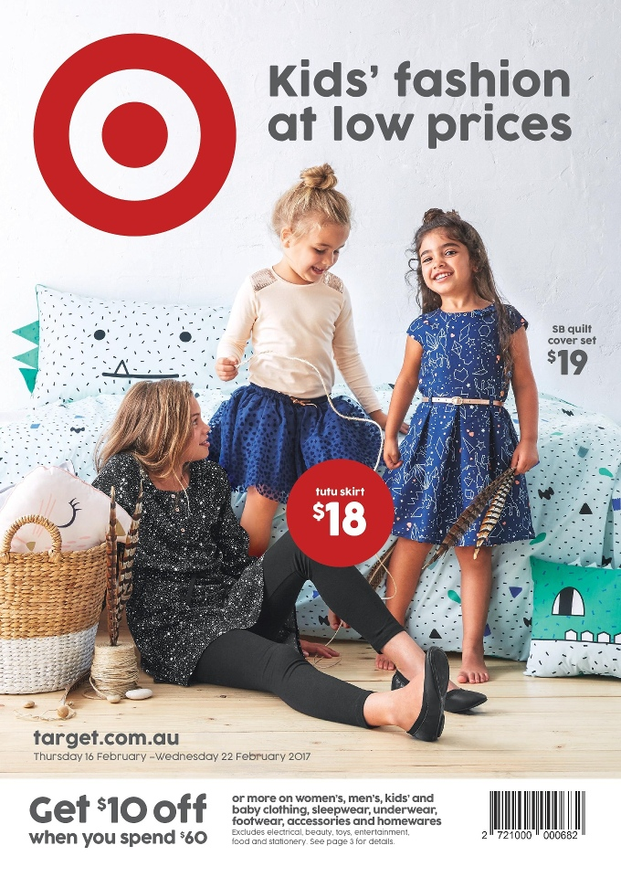 target catalogue 16 february 2017