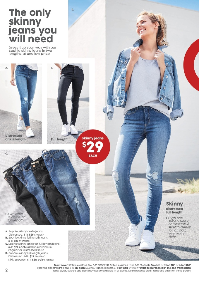 target catalogue 16 march 2017