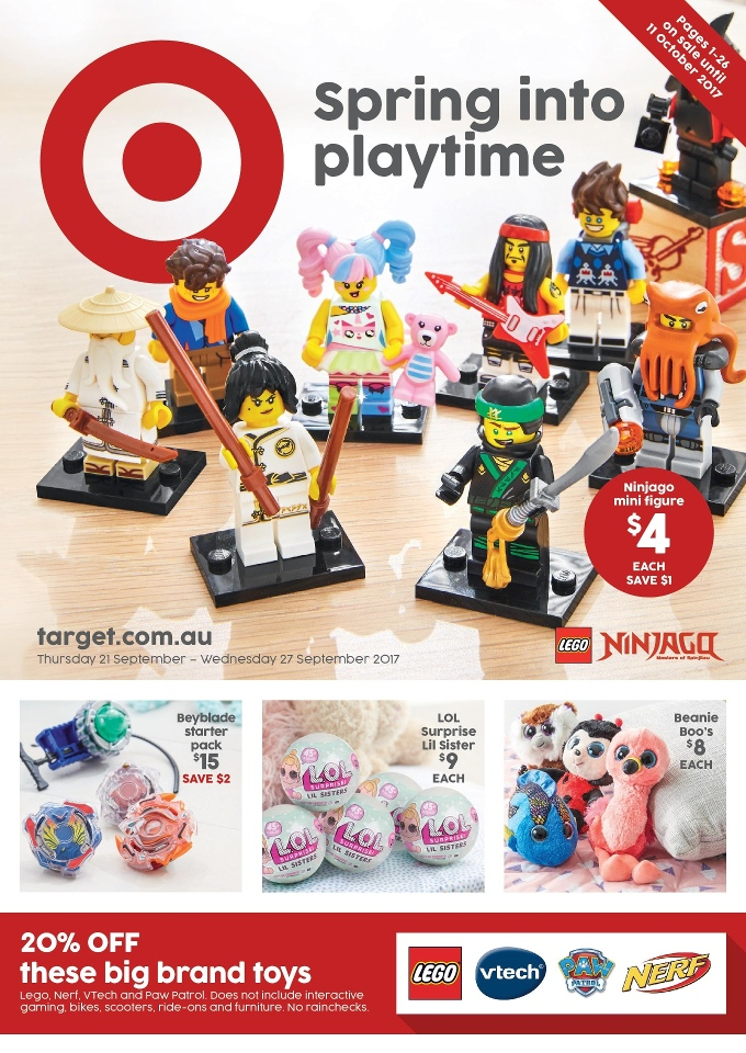 target catalogue 20 september 2017