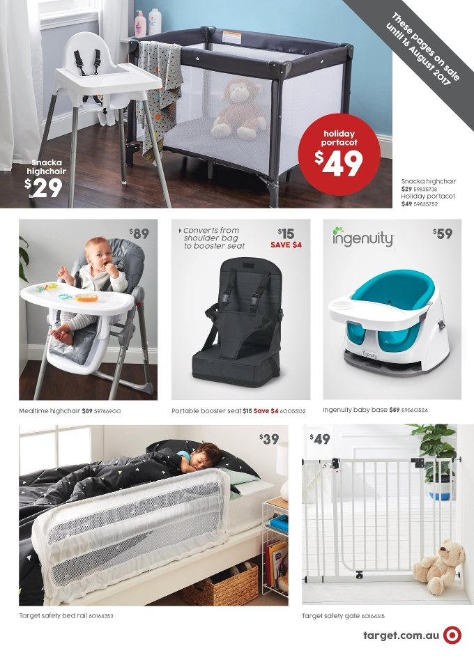 target catalogue 3 august 2017
