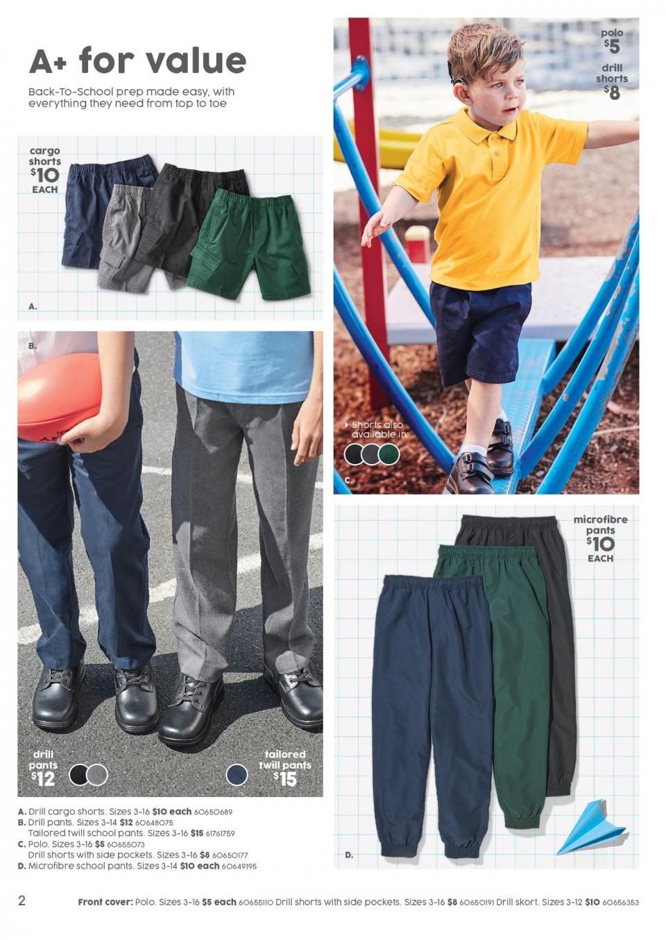 target catalogue 3 jan 2019