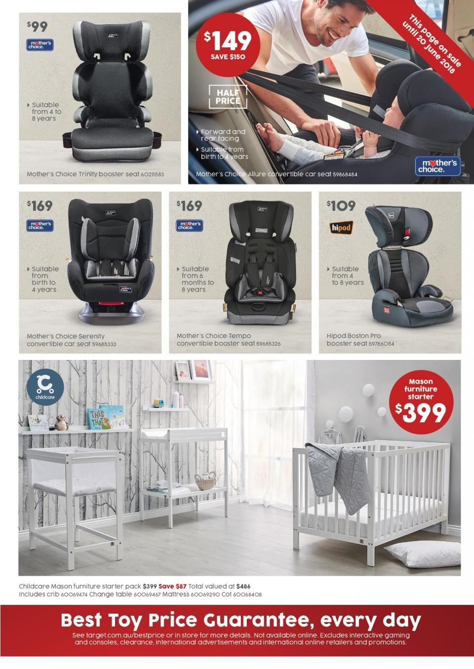 target catalogue 7 june 2018