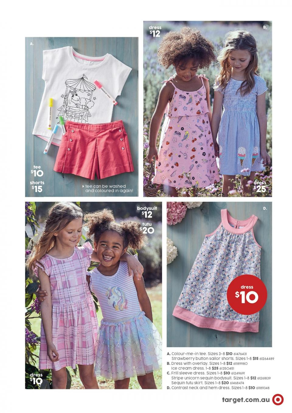 target catalogue 9 august 2018