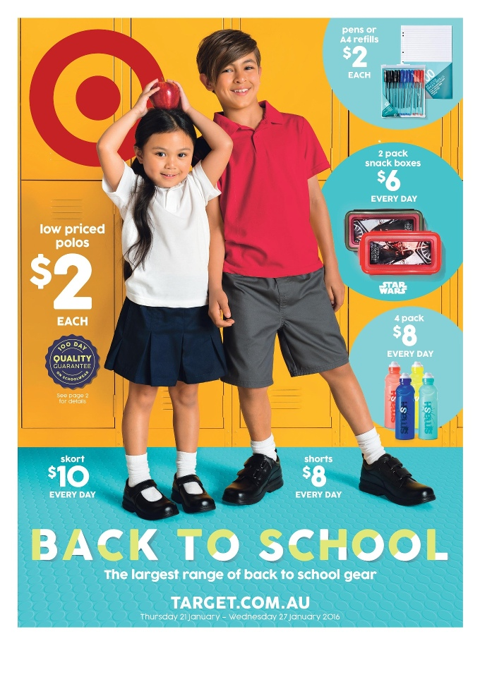 faaec555fe Target Catalogue Back To School 2016