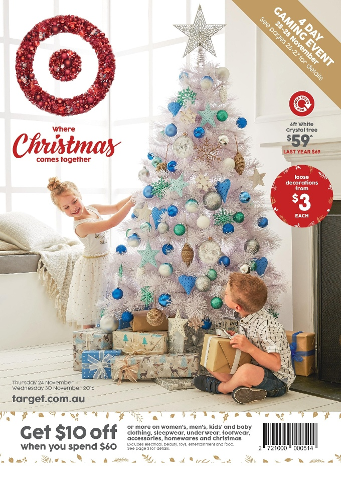 target catalogue christmas 24 november 2016 - Target Christmas Decorations 2016