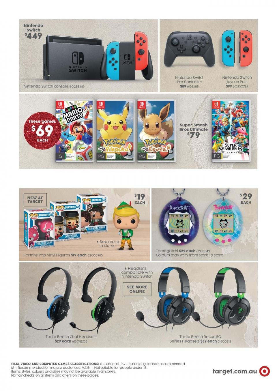 target catalogue christmas 6 dec 2018