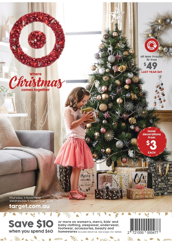 target catalogue christmas november 2016