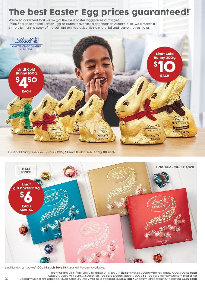 target catalogue easter 5 april 2017