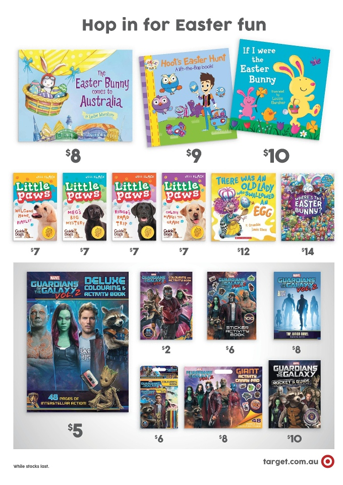 target catalogue easter toys 5 april 2017