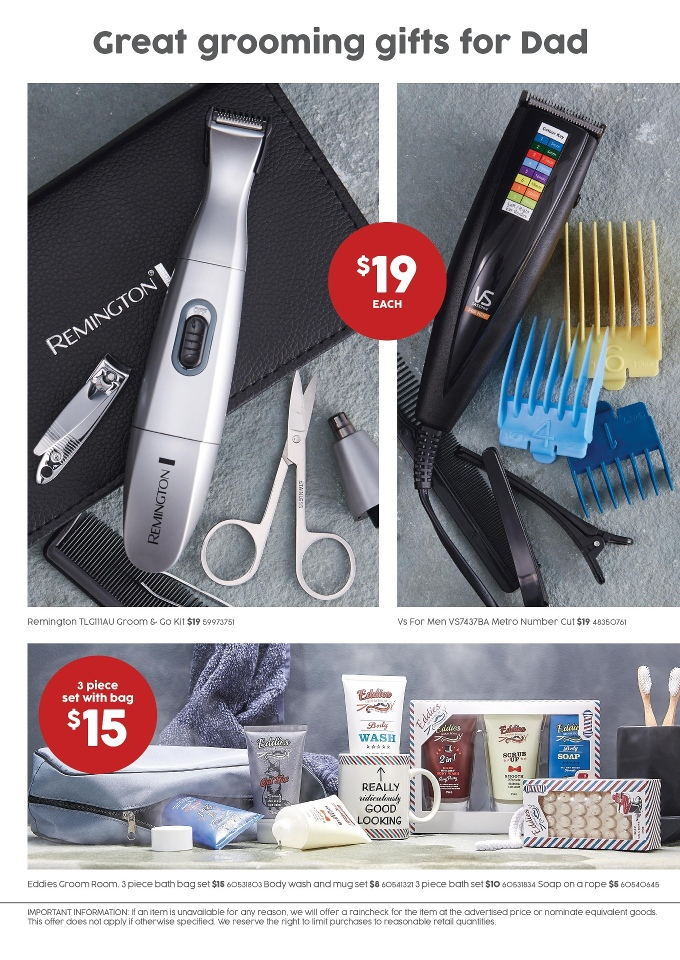 target catalogue fathers day 30 aug 2017