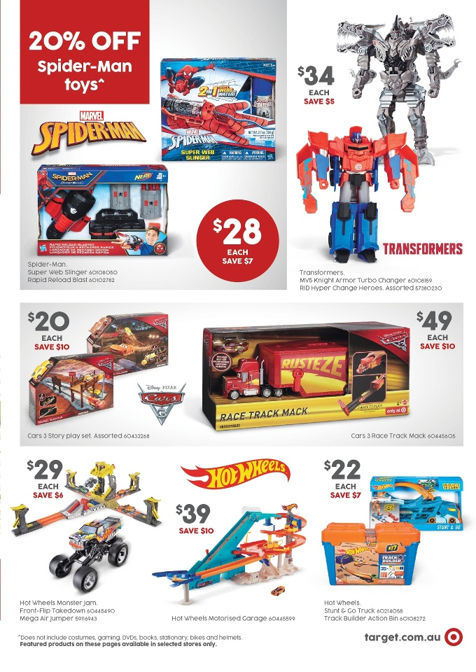 target catalogue kids 12 october 2017