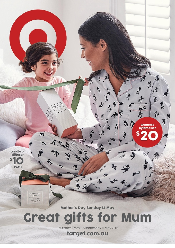 target catalogue mothers day 10 may 2017