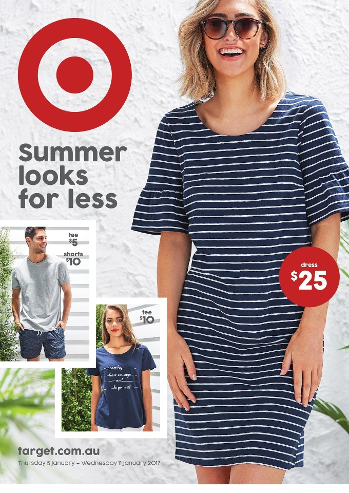 36ab17e3f Target Catalogue Summer Wear 4 - 11 Jan 2017