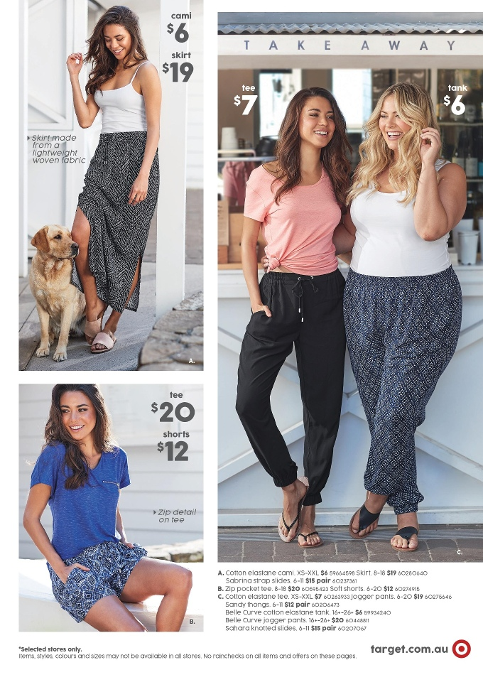 target catalogue summer wear 5 october 2017