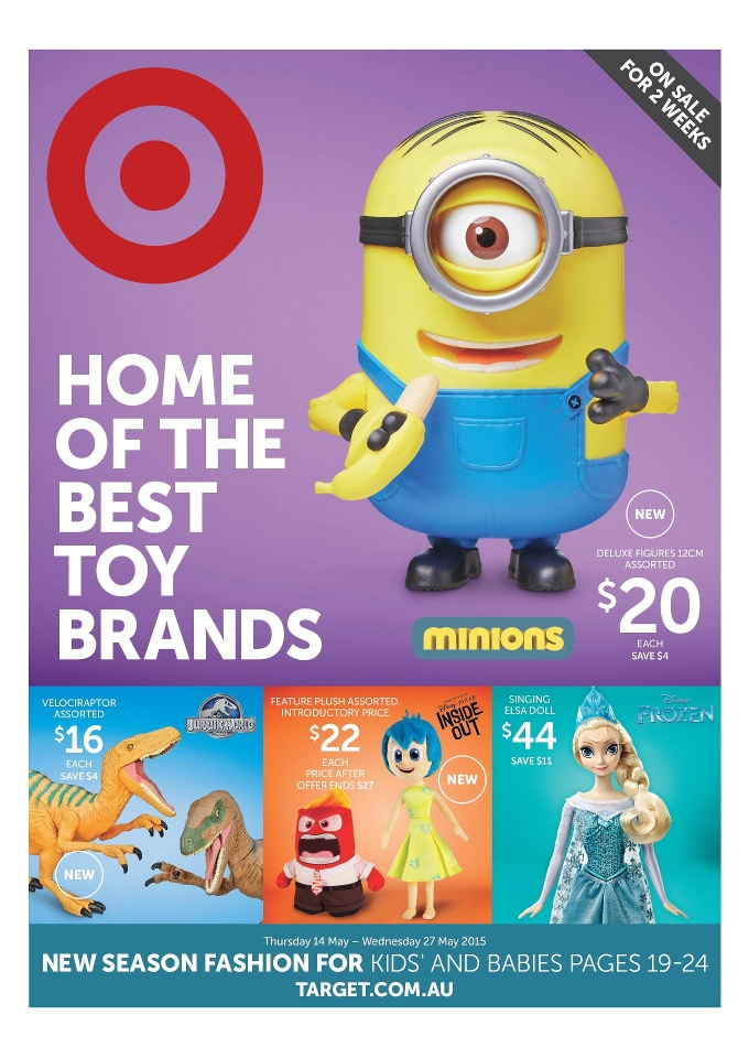 Target Toy Catalog : Target catalogue toy brands may