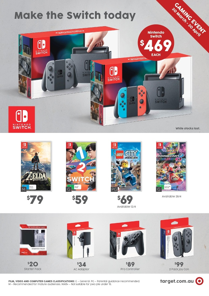 target catalogue toy sale 30 march 2017