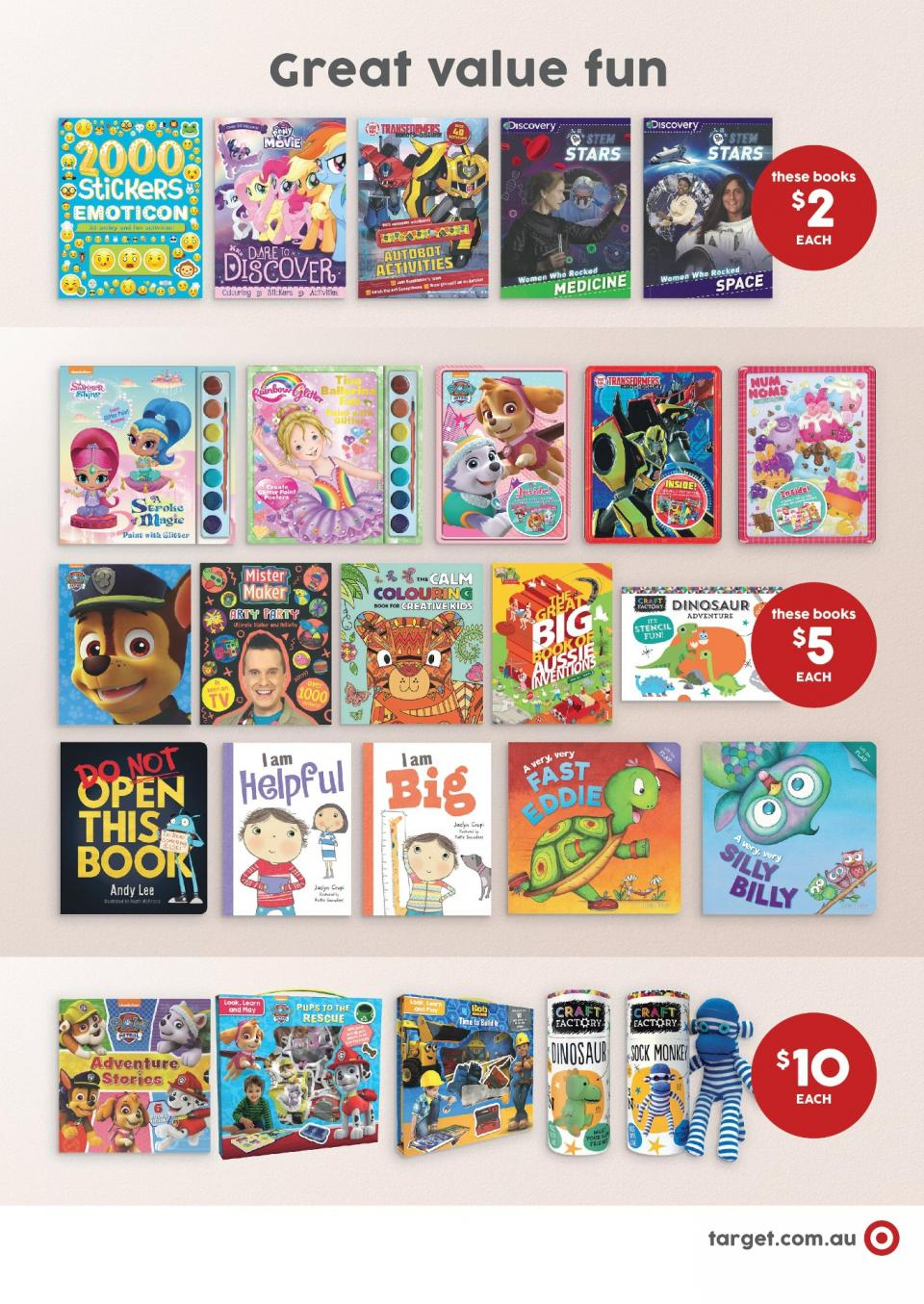 Target Toy Catalog : Target catalogue toys feb mar page