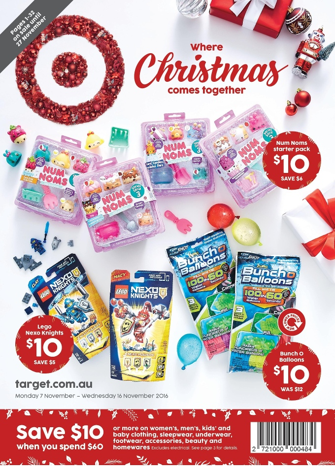 Target Christmas Toys : Target christmas catalogue toy gifts november