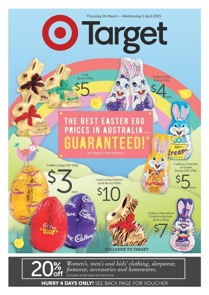 Target easter egg catalogue march 2015 target home appliances negle Choice Image