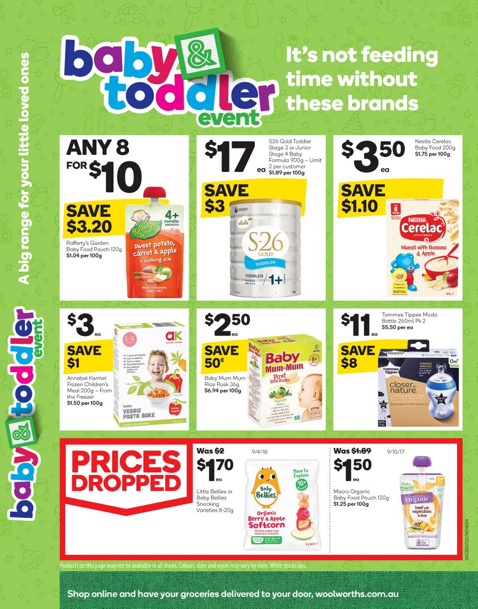 woolworths catalogue 10 16 jul 2019