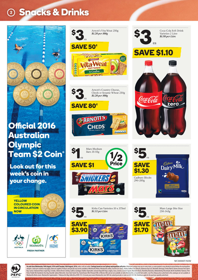 woolworths catalogue 10 aug 2016