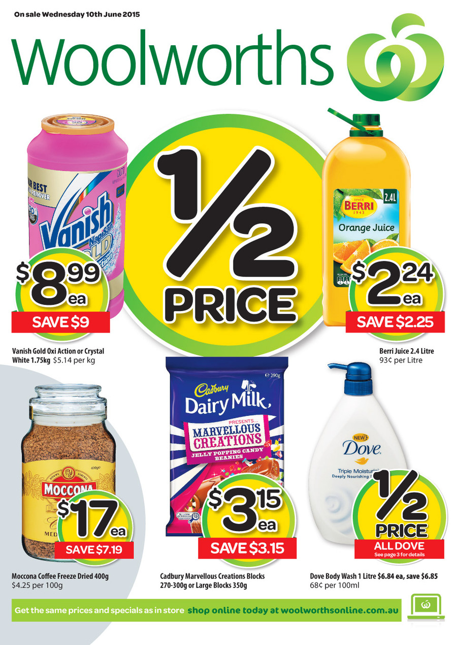Woolworths Catalogue 10 June 2015