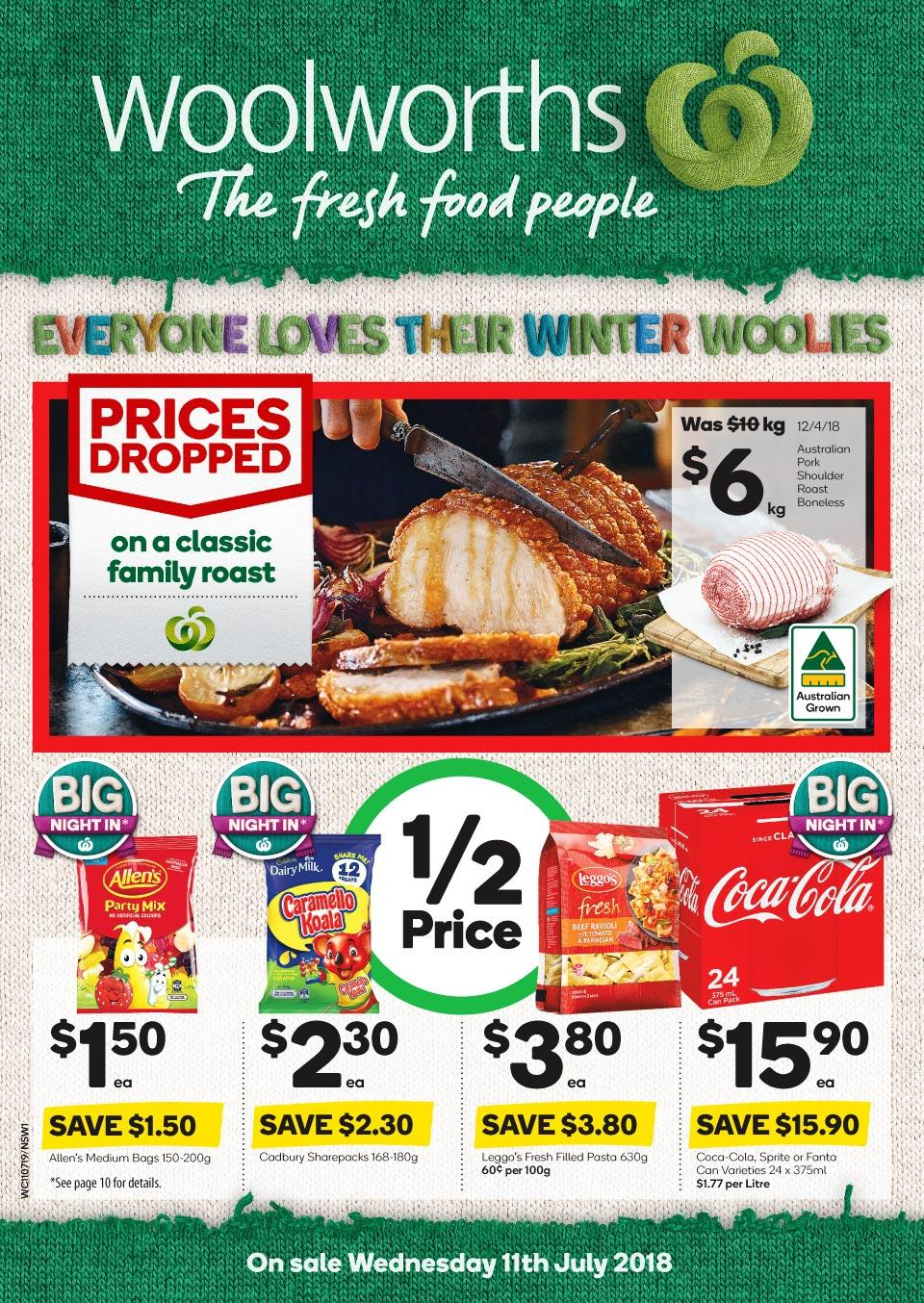 woolworths catalogue 11 jul 2018