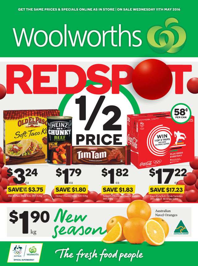 woolworths catalogue 11 may 2016